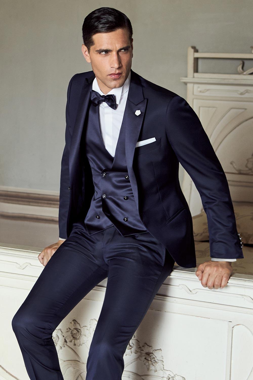 orologio f1cd0 a8ba9 abito-da-sposo-blu-lubiam-16 - Marchi Abbigliamento